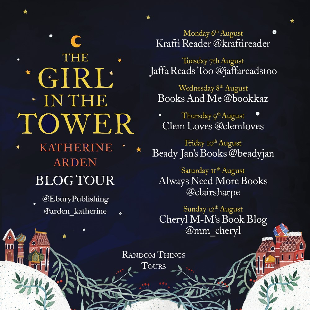 The Girl in the Tower Blog Tour