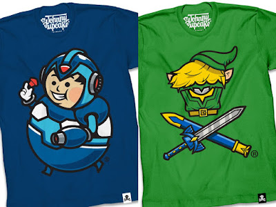 The Johnny Cupcakes Video Game T-Shirt Collection Part 1