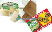 Logo Galbani Bel Paese e Crema Bel Paese ti regalano il tagliere e la scatola di latta Vintage:premi certi