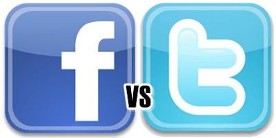 Facebook vs Twitter ¿cuál es mejor?