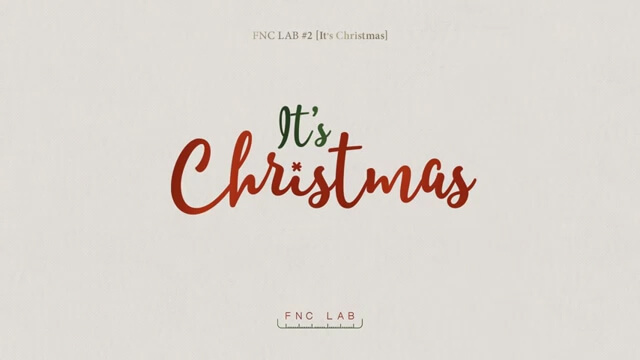 it's christmas fnc artist single navidad