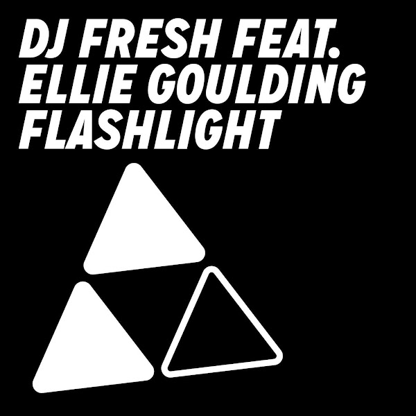 DJ Fresh - Flashlight (feat. Ellie Goulding) [Radio Edit] - Single Cover