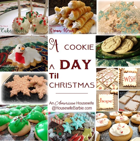 An American Housewife The Christmas Cookies Are Coming