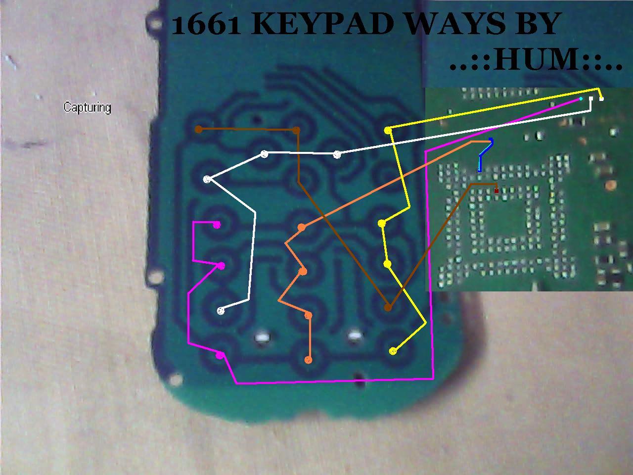 Nokia 1661 keypad ways  GSMHosters
