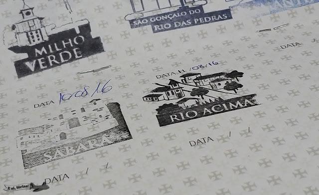 Estrada Real, Caminho Sabarabuçu, Rio Acima, Minas Gerais, carimbo, passaporte