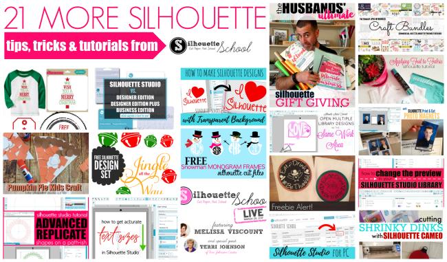Silhouette CAMEO tutorials, silhouette cameo help, silhouette school, the best silhouette tutorials, silhouette school live