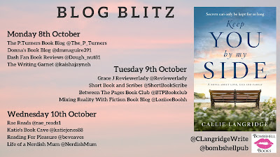 Keep You By My Side by Callie Langridge @CLangridgeWrite #BlogBlitz @bombshellpub #Review