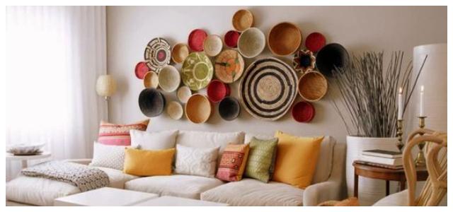 Διακοσμήσεις για τον τοίχο του καναπέ