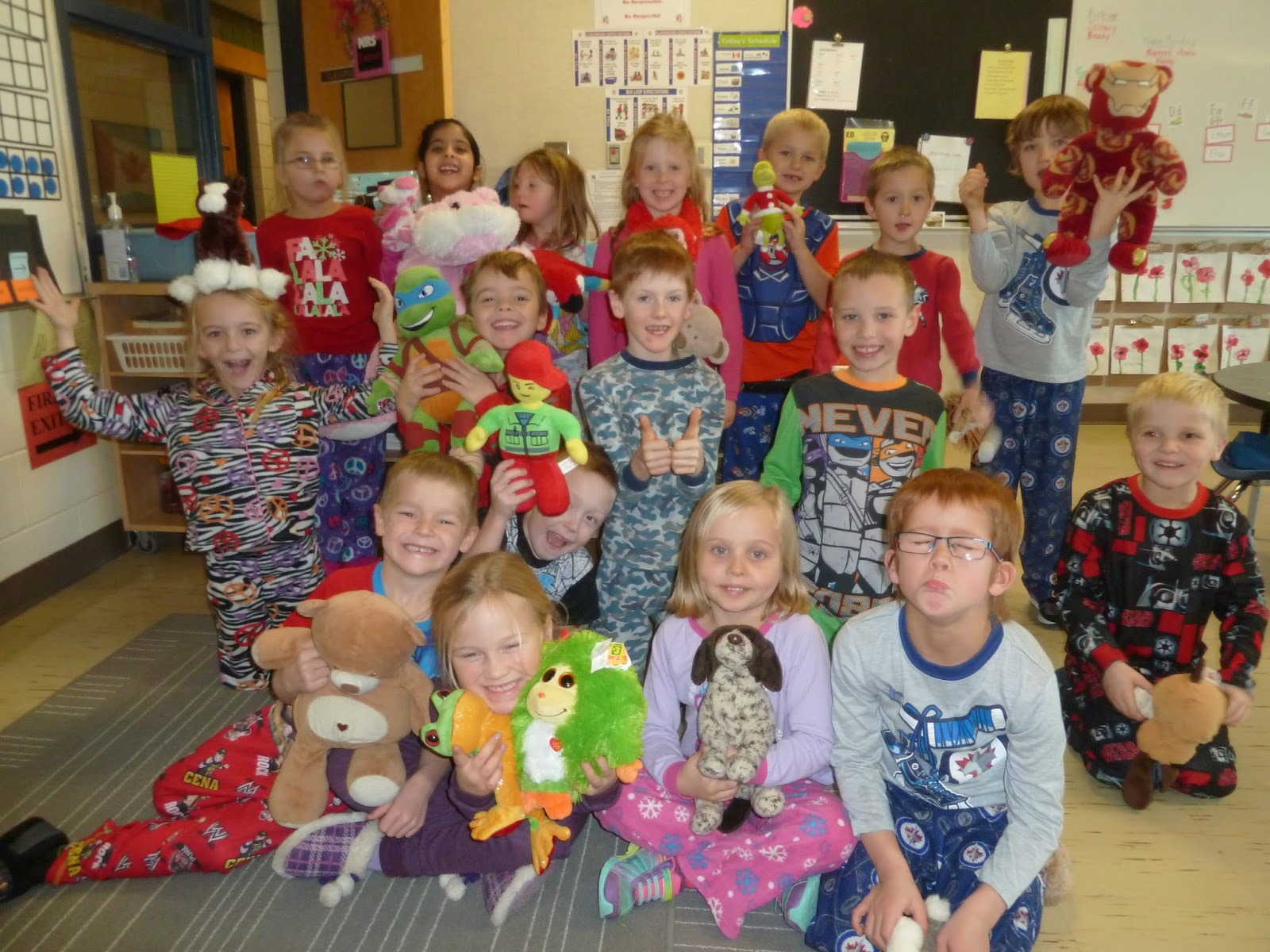 Learning As We Grow Pj And Stuffy Day