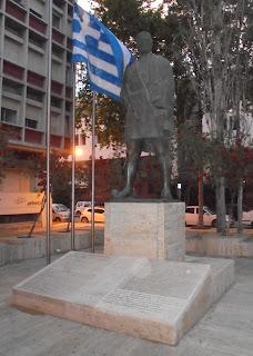 το μνημείο των Μεσσήνιων Μακεδονομάχων στην Καλαμάτα