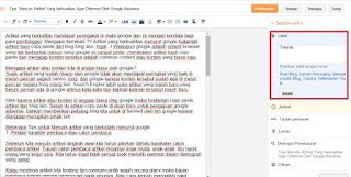 Tips  Menulis Artikel Yang berkualitas Agar Diterima Oleh Google Adsense