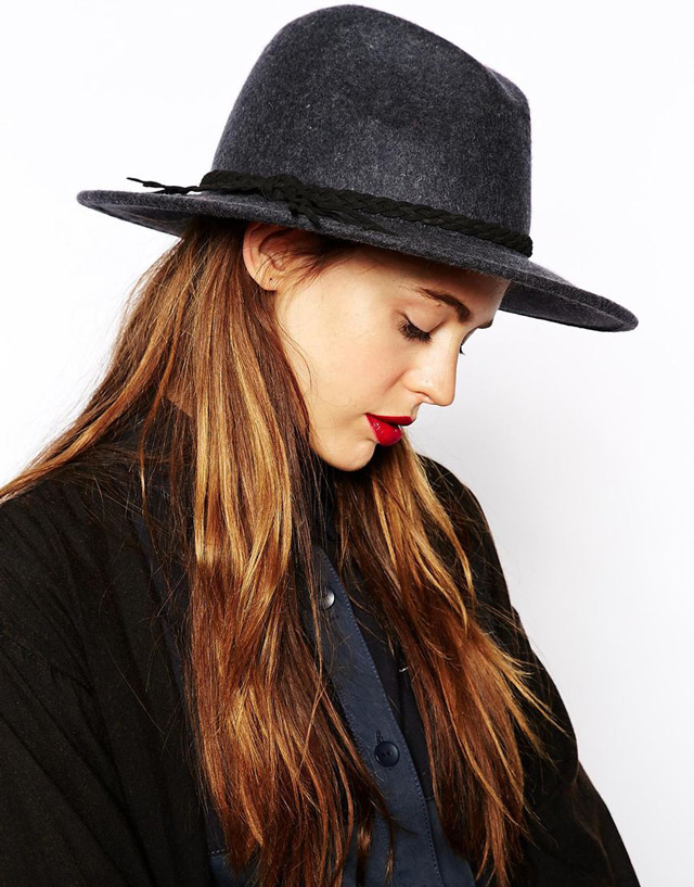 Fedora hat, rock you fall winter look
