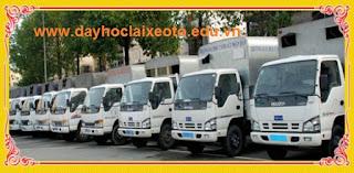 xe tập lái học lái xe tải