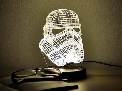 Starwars Themed 3D Night Light