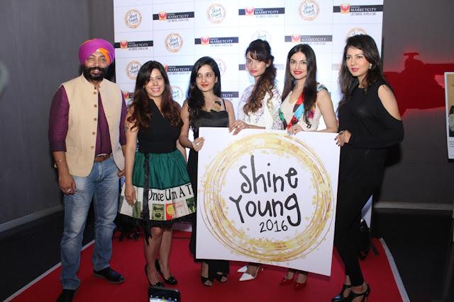 Chef Harpal Singh Sokhi, Priya Kumar, Amy Billimoria, Karishma Modi, Divya Khosla Kumar, Gwen Athaide at Shine Young Launch, Phoenix Marketcity, Kurla