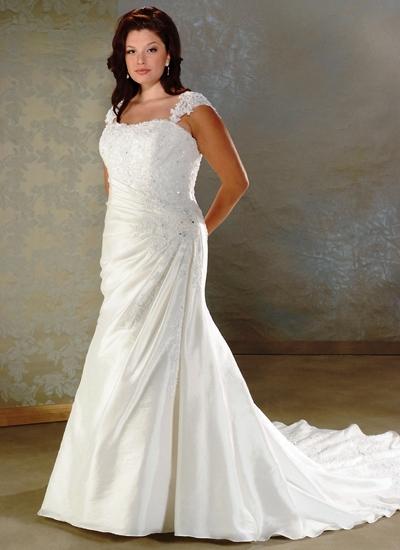 White Wedding Dress Ideas For Body Fat