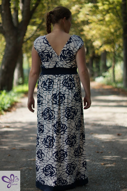 Kleid - Hochzeitseinladung - Bohemian Summer - Lilabrombeerwölkchen - Stillkleid