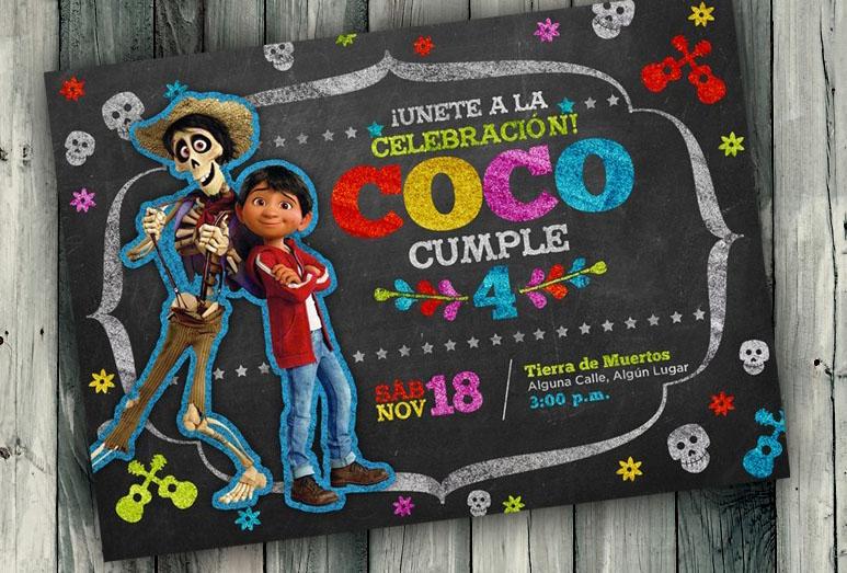 Coco Birthday Party Fiesta De Cumpleaños Pastel Coco Pixar