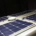 Solpaneler på plåtisen