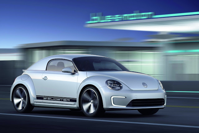 2012 Volkswagen E-Bugster Study - #Volkswagen #conceptcar