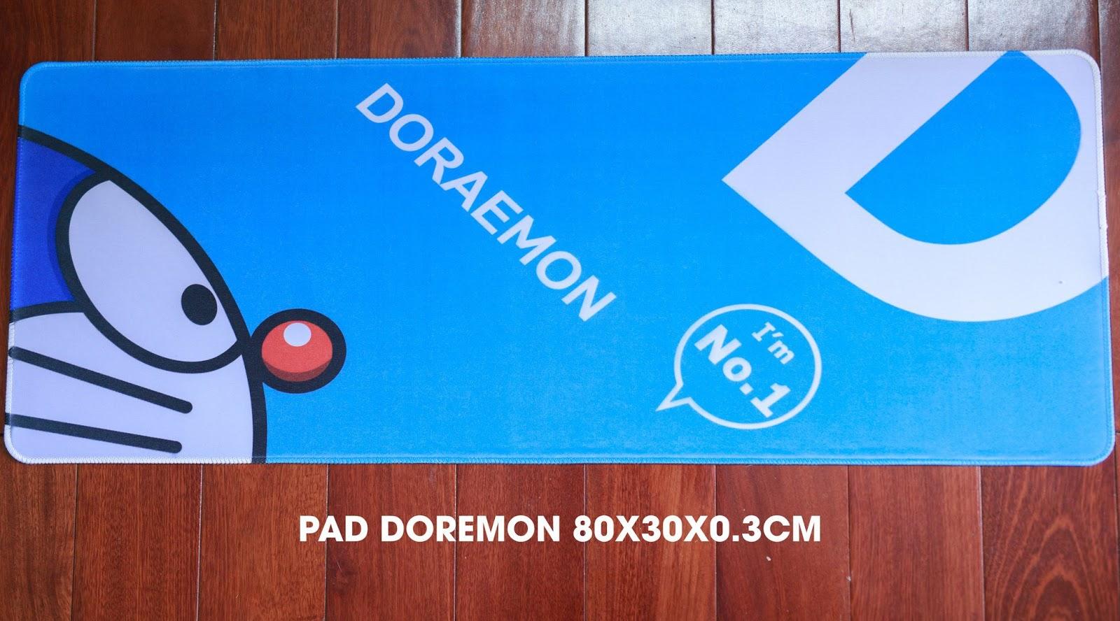 Gamming Mousepad: One piece, CS, CF, LMHT, Doraemon, Naruto, Dota2!!! - 17