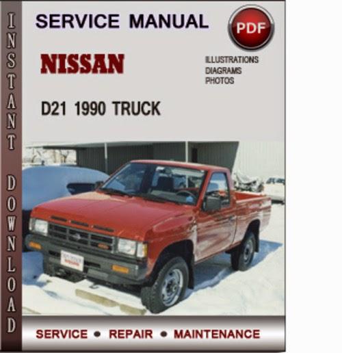 nissan d21 service manual