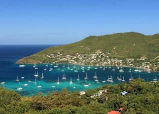 Isla del Caribe San Vicente y las Granadinas