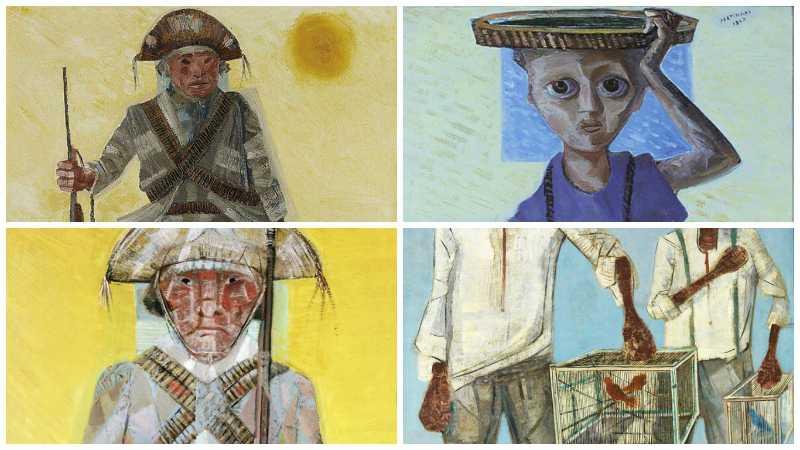 Pinturas de Candido Portinari