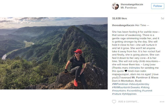 Angel Locsin Proves Herself as Real Life Superhero After Conquering Her 6th Mountain in 3 weeks!