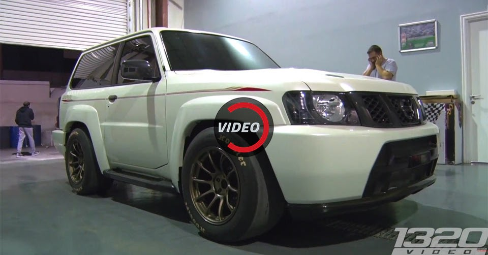 This Is The GT R Powered Nissan Patrol That Smashed