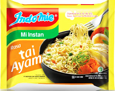 "Meme Indomie rasa ""Tai Ayam"""