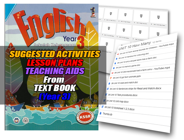 Suggested Activities, Lesson Plan And Teaching Aids From