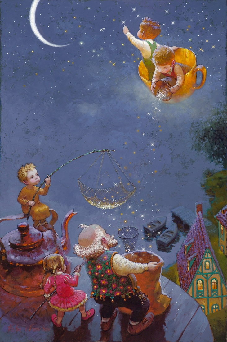 11-No-Name-Victor-Nizovtsev-Daydreaming-with-Fantasy-Oil-Paintings-www-designstack-co