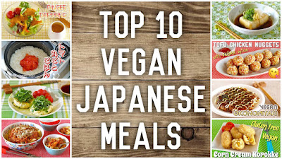 Top 10 Vegan Japanese Meals