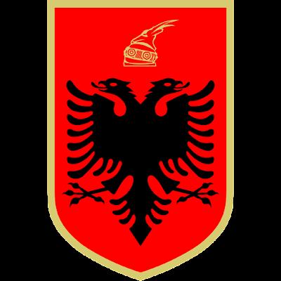 Logo Gambar Lambang, Simbol, Bendera Negara Albania