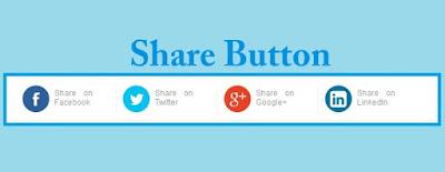 Cara Membuat/Memasang Share Button Sederhana (Template Evo Magz) Di Blogspot