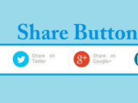 Cara Membuat/Memasang Share Button Sederhana (Template Evo Magz) Di Blogspot