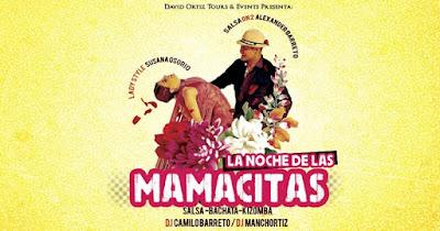 SALSA, BACHATA Y KIZOMBA- NOCHE DE MAMACITAS