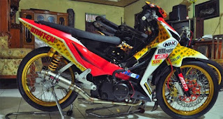 modifikasi supra x 125 sederhana modifikasi supra x 125 road race modifikasi supra x 125 helm in