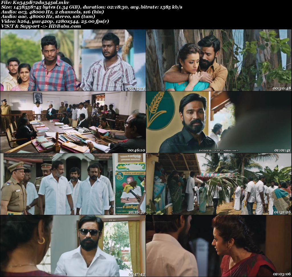 Kodi (2016) x264 720p HDRiP UNCUT [Hindi DD 2.0 + Tamil 2.0] 1.3 GB Screenshot
