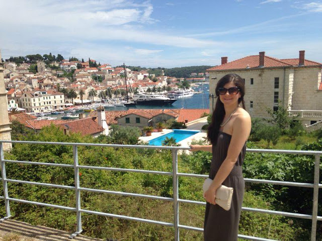 Croatia holiday review- Hvar scenery