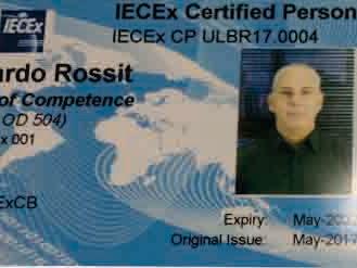 Gerente Sense recebe certificação de Competência Profissional EX