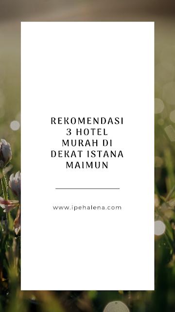 Hotel murah medan