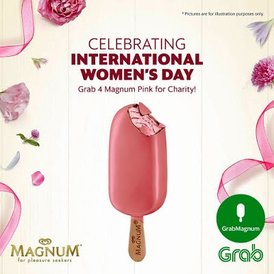 Celebrating International Women's Day  Grab 4 Magnum Pink For Charity