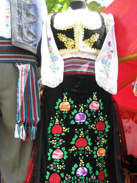 Folkcostume Amp Embroidery Costume Of Central Serbia Or