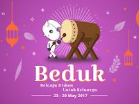 Beduk Ramadhan Diskon 70% Periode 23-29 Mei 2017 digelar JD.id