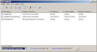 ZQWARE IP Shifter