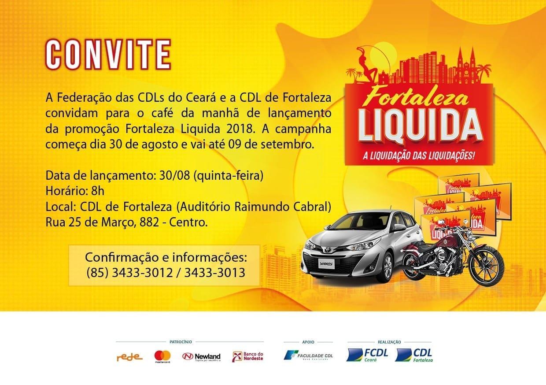 CDL lança Fortaleza Liquida 2018 bba92cb3e6