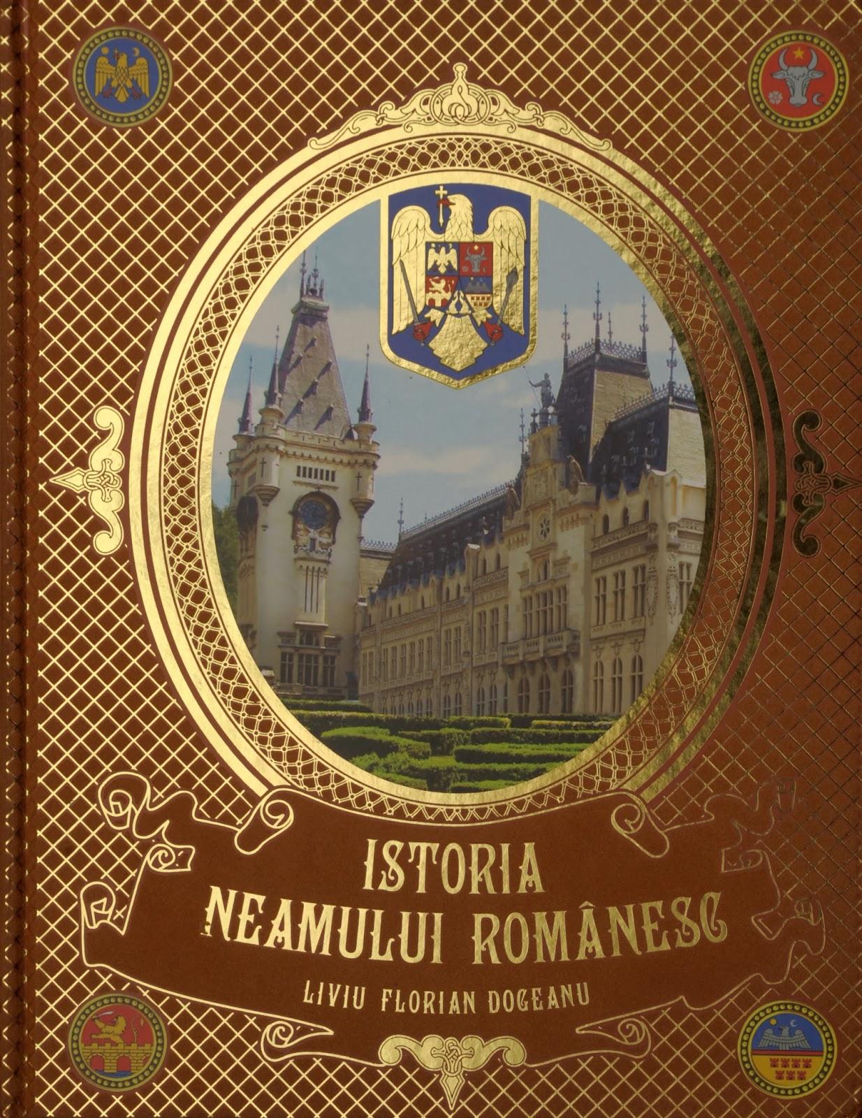 Istoria neamului romanesc - coperta fata