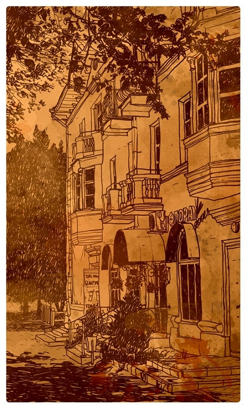 21-Evgeniy-Rodionov-Евгений-Родионов-Architectural-Drawings-with-a-Striking-Background-www-designstack-co